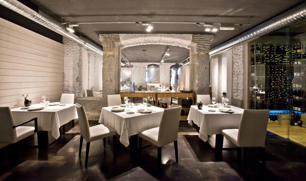 Sala del restaurante Alabaster