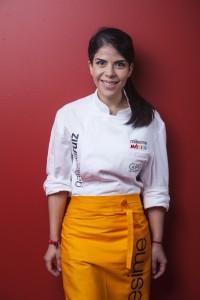 La joven Gaby Ruiz ha sido Joven Talento Millesime 2015 y fue seleccionada como una de las 10 Young Chef San Pellegrino que fueron a competir a la semifinal de Sao Paulo