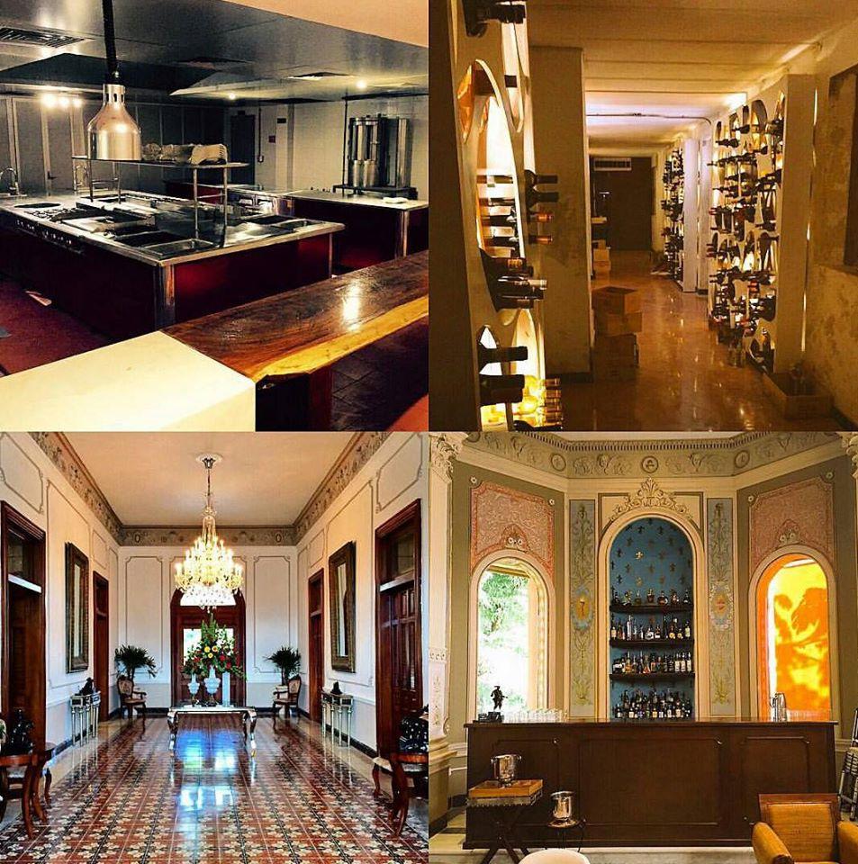Villa Donata, un magnifico espacio de estilo toscano que contrasta con la imagen sofisticada y moderla de las recetas de K´u´uk