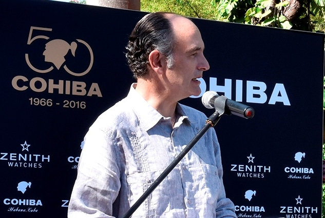 Javier Terres Ercilla Development Manager Habanos